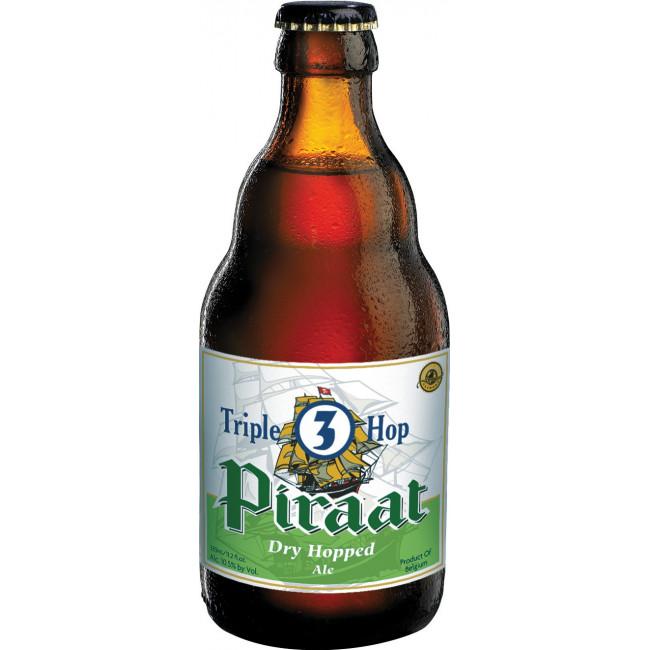"Пиво ""Piraat"" 3 Triple Hop, Пират Трипл 0.33 л"
