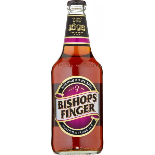 """Пиво """"Bishops Finger"""", Бишоп Фингер 0.5 л"""