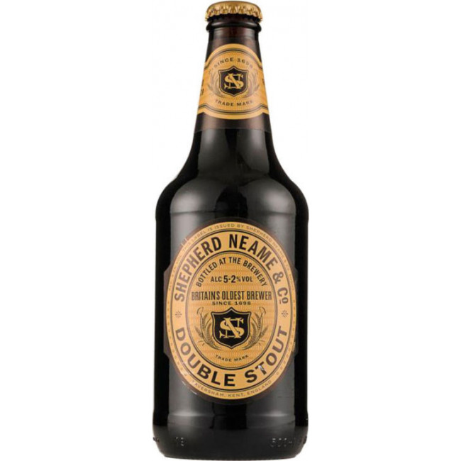 Пиво Shepherd Neame, Double Stout, Дабл Стаут 0.5 л