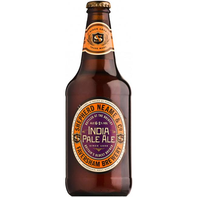 Пиво Shepherd Neame, India Pale Ale, Индиа Пейл Эль 0.5 л