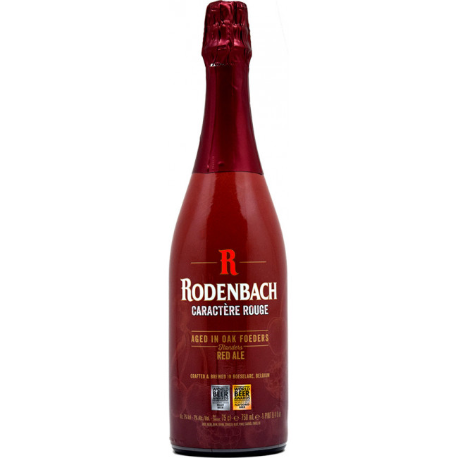 "Пиво Rodenbach, ""Caractere Rouge"", Роденбах Характер Руж 0.75 л"