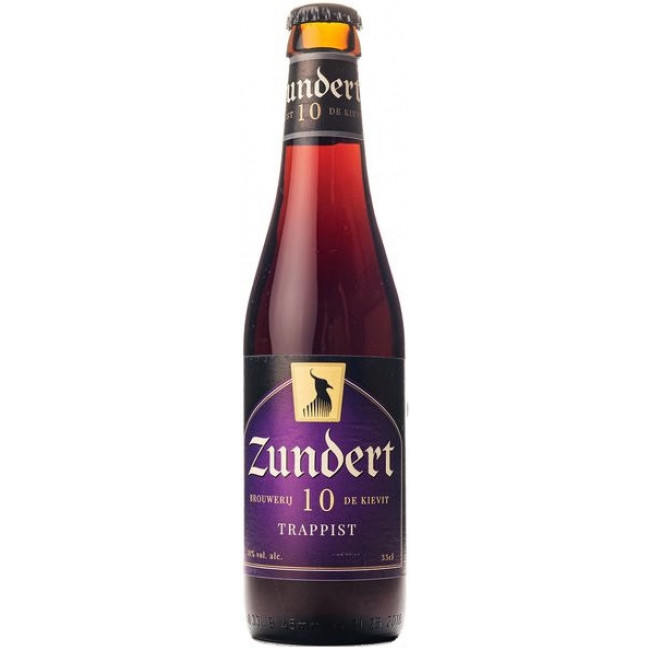 """Пиво """"Zundert"""" Trappist 10, траппистское 0.33 л"""