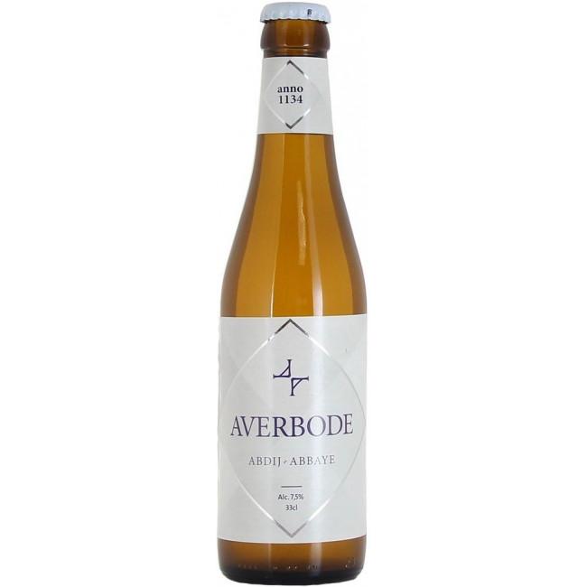 """Пиво """"Averbode"""", монастырское, пиво светлое """"Авербод"""" 0.33 л  (4бут.*0,33+бокал)"""