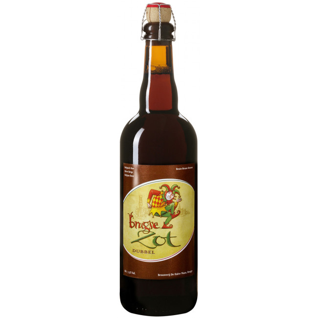 """Пиво """"Brugse Zot"""" Dubbel, 0.75 л"""