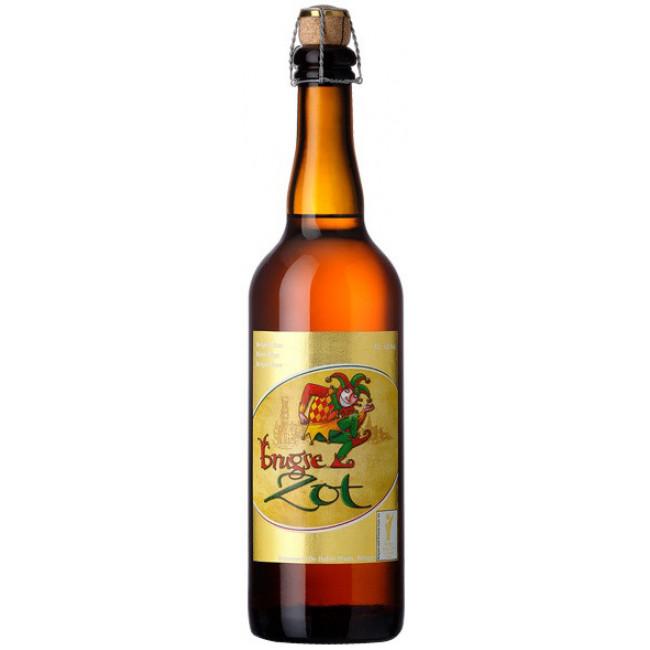 "Пиво ""Brugse Zot"" Blond, 0.75 л"