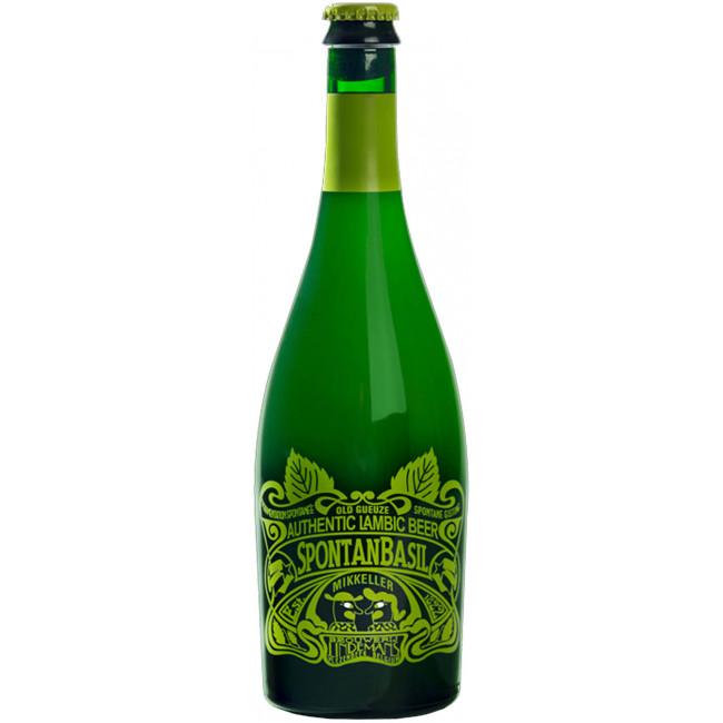 Пиво Lindemans SpontanBasil не пастеризованное нефильтрованное, 0.75л