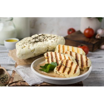 Сыр Халуми с мятой, 330г, Частная сыроварня