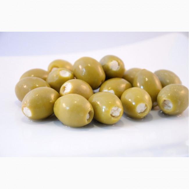 Оливки Зеленые фаршированные голубым сыром Deas SA, весовые