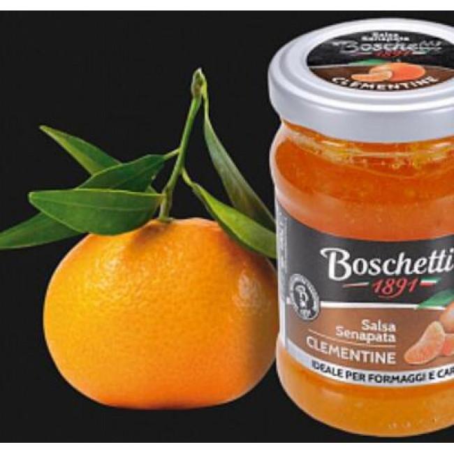 Горчица Фруктовая из красного мандарина Boschetti 120 гр