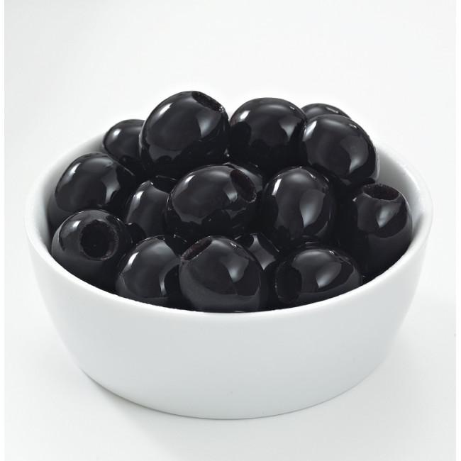 Оливки греческие черные без косточки, Deas SA, весовые