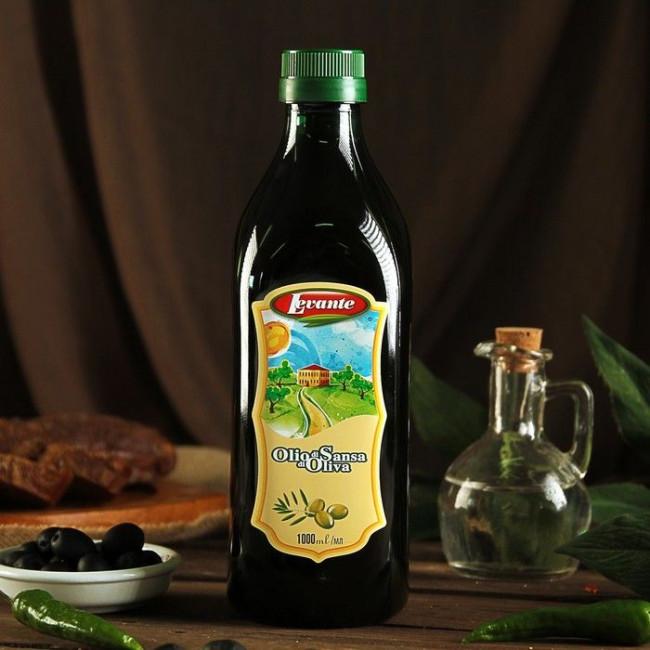 Масло оливковое нерафинированное Экстраверджине ст/б Levante 1L