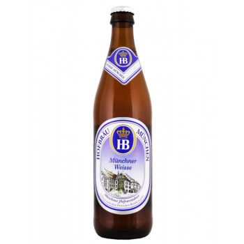 Пиво светлое нефильтрованное, пастеризованное,неосветленное.Хофброй Мюнхнер Вайс.