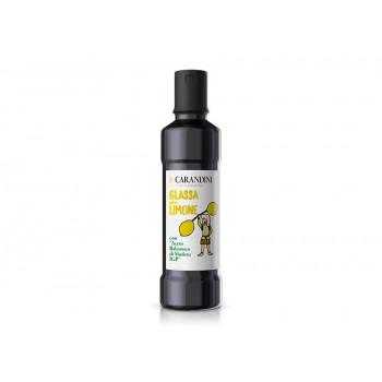 """Соус """"Glassa"""" с добавлением бальзамического уксуса Модены с ароматом лимона, 250 гр., Carandini"""