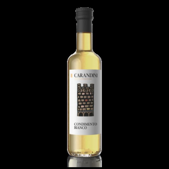Сладкая белая приправа с доб.белого винного уксуса и виногр.сусла Carandini 500 гр
