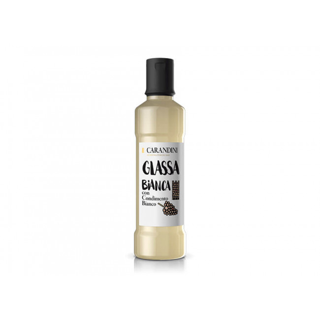 """Соус """"Glassa"""" белый на основе концентрированного виноградного сусла и винного уксуса  500 гр., Carandini"""