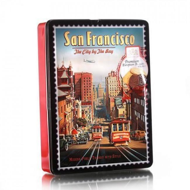 Ассорти бисквитного печенья GBS Сан Франциско, 420г