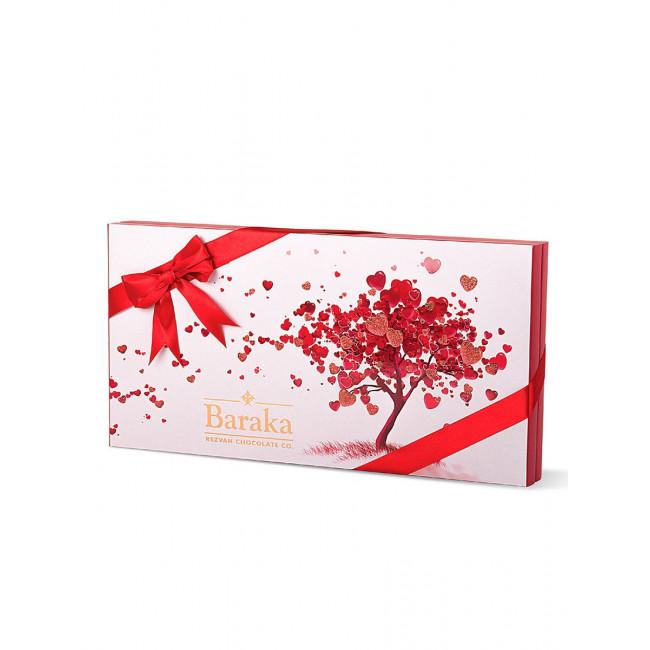 Ассорти шоколадных конфет Baraka Дерево Любви, 155г