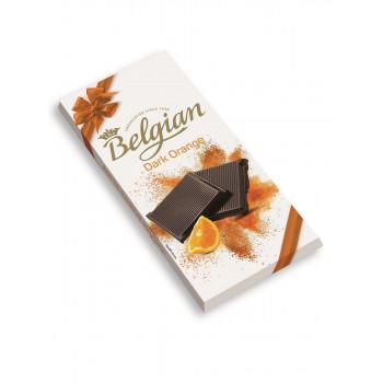 Бельгийский горький шоколад Belgian с апельсином 100 гр