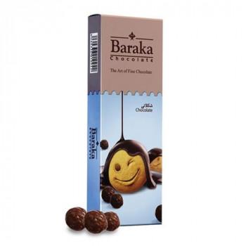 Бисквитные шарики Baraka в молочном шоколаде, 100 гр.