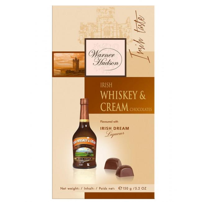 Конфеты Warner Hudson с Ирландским виски и сливки, 150г.