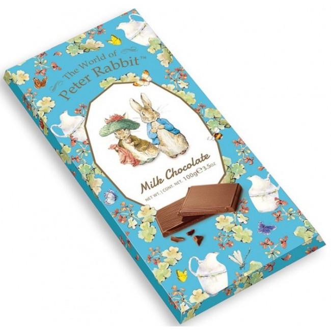 Молочный шоколад The World of Peter Rabbit Bar Milk Bunny, 100 гр.