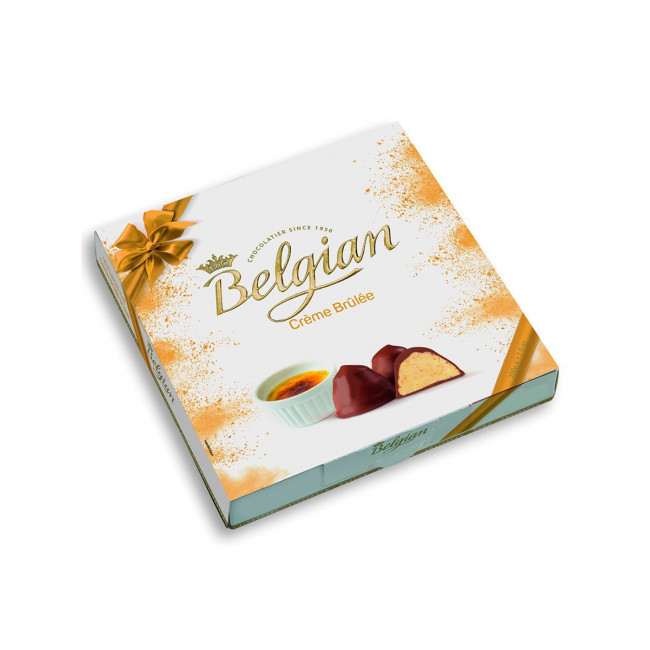 """Шоколадные конфеты Belgian """"Крем-Брюле"""", 200 гр"""