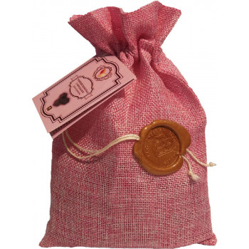 Темный шоколад ручной работы Fleur Libertad с миндалём, мешочек 200 гр