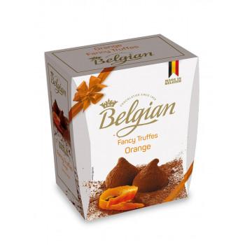 Трюфели Belgian с кусочками апельсина, 200 гр