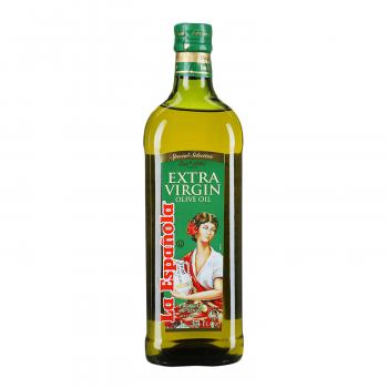 Масло оливковое нерафинированное высшего качества Extra Virgin ст/б La Espanola 1 л.