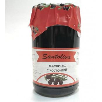 Маслины с косточкой Santolivo 350 г