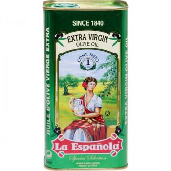 Масло оливковое нерафинированное высшего качества Extra Virgin  ж/б  La Espanola 1л.