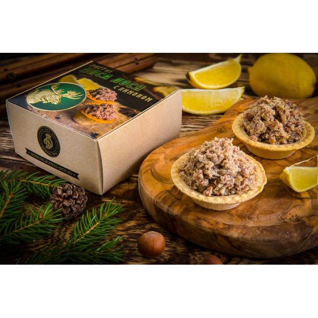 Риет из Лося с лимоном ж\б, , 325 г, Деликатес Дичь