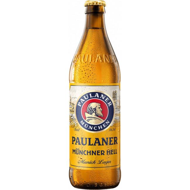Пиво Paulaner Original Munchner Hell Оригинальное мюнхенское светлое, 0.5 л