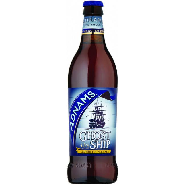 Пиво Adnams Ghost Ship Светлое крафтовое алк. 4,5%, 0.5 л