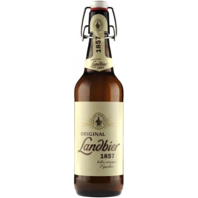 Пиво Aktien Original Landbier 1857 Светлое фильтрованное алк. 5,3%, 0.5 л