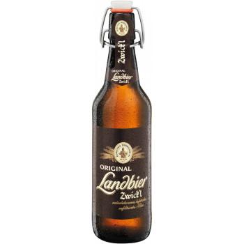 Пиво Aktien Zwick'l Landbier Светлое фильтрованное алк. 5,3%, 0.5 л
