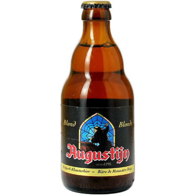 Пиво Augustijn Blonde Янтарное фильтрованное алк. 7%, 0.33 л