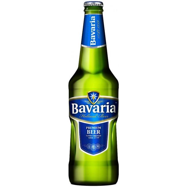 Пиво Bavaria Premium Светлое фильтрованное алк. 5%, 0.5 л