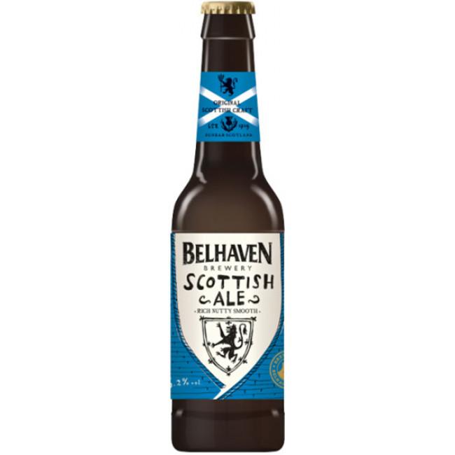 Пиво Belhaven Scottish Ale Тёмное фильтрованное алк. 5,2%, 0.33 л