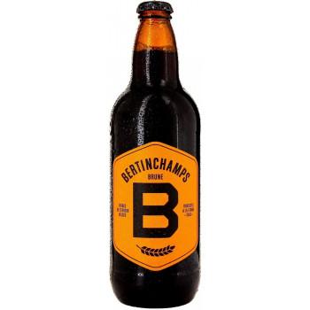 Пиво Bertinchamp Brune Чёрное нефильтрованное алк. 7%, 0.5 л