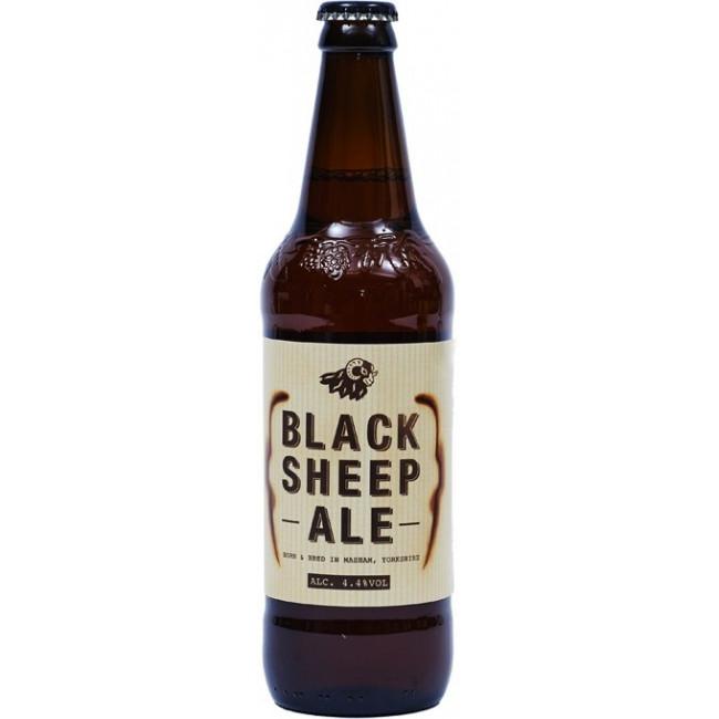 Пиво Black Sheep, Ale Эль янтарный фильтрованный, 0.5 л