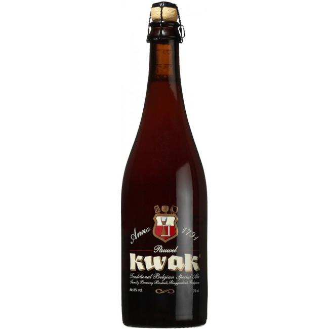 Пиво Bosteels Pauwel Kwak Янтарное фильтрованное алк. 8,4%, 0.75 л
