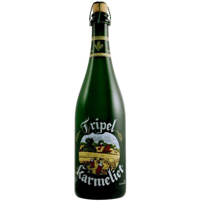 Пиво Bosteels Tripel Karmeliet Светлое фильтрованное алк. 8,4%, 0.75 л