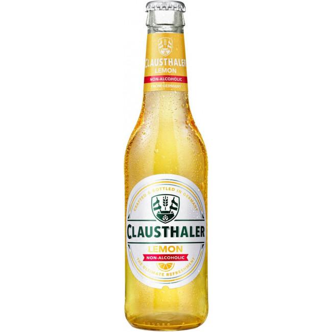 Пиво Clausthaler Lemon, Non-Alcoholic Безалкогольное Лимон, 0.33 л