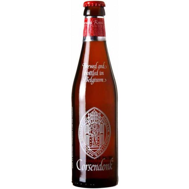 Пиво Corsendonk Rousse Янтарное фильтрованное алк. 8%, 0.33 л