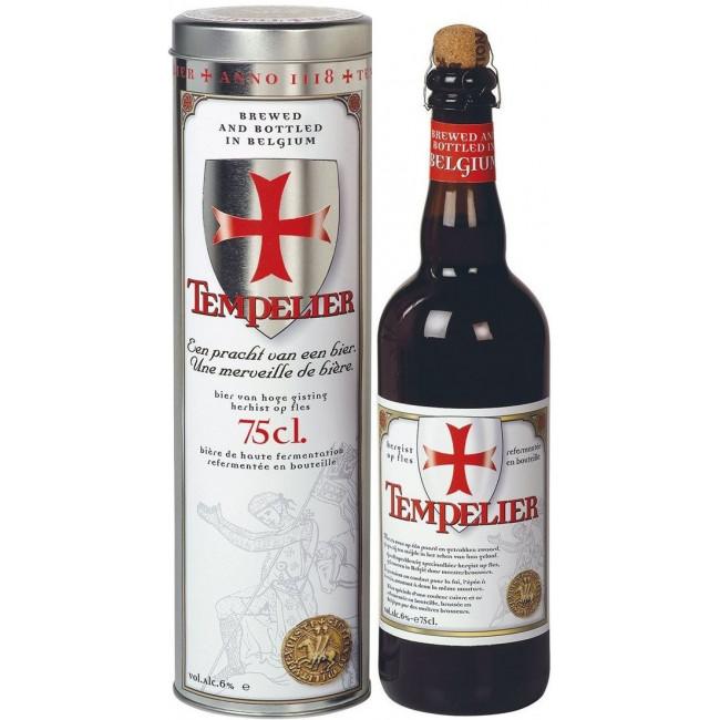 Пиво Corsendonk Tempelier Янтарное фильтрованное алк. 6%, 0.75 л в тубусе