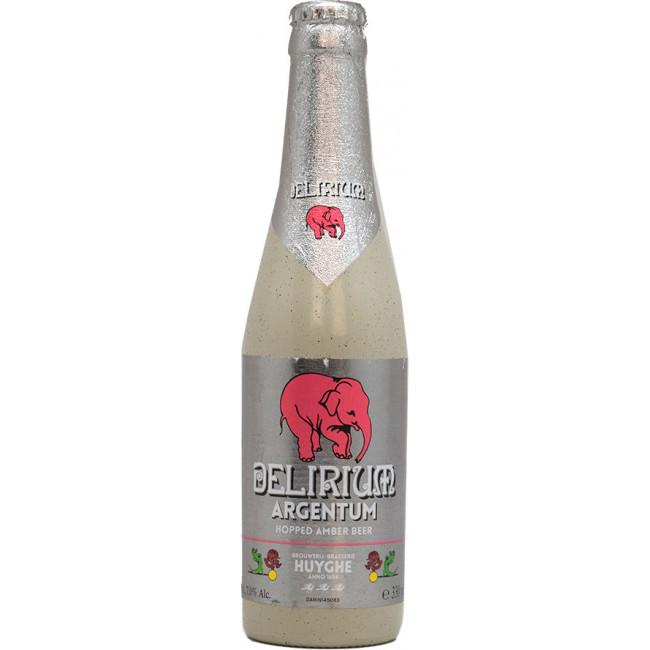 """Пиво """"Delirium"""" Argentum Средне-янтарное фильтрованное 7%, 0.33 л"""