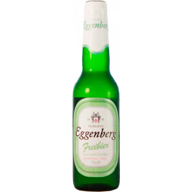 Пиво Eggenberg Freibier Светлое безалкогольное, 0.33 л