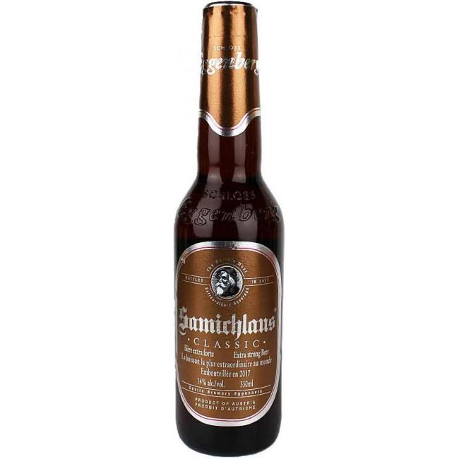 Пиво Eggenberg Samichlaus Тёмное фильтрованное алк. 14%, 0.33 л