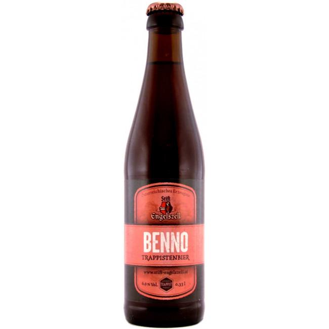 Пиво Engelszell Benno Траппистское светлое алк. 6,9%, 0.33 л